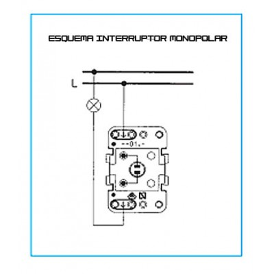 Doble Interruptor  8111 para Sky,...