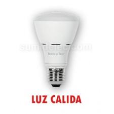 Bombilla E27 LED Samsung R63 luz cálida