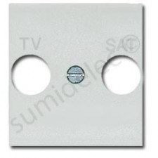Tapa para toma TV-SAT color blanco Livinglight N4212
