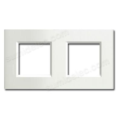 Marco cuadrado blanco 2 elementos...