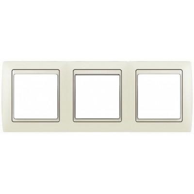 Marco marfil 3 elementos simon 82730-31