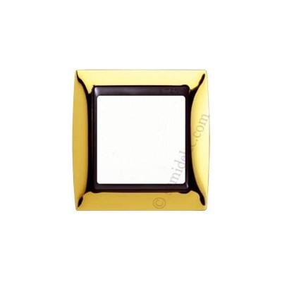 Marco oro 1 elemento serie Simon...