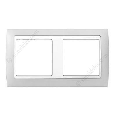 Marco gris blanco 2 elementos simon 82621 33 serie 82 precio - Simon 82 precios ...
