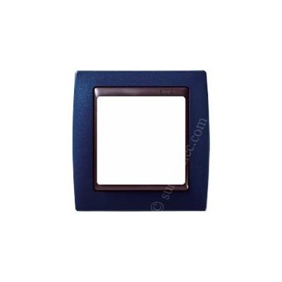 Marco azul metalizado 1 elemento...