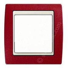 Marco Granate metalizado 1 elemento Simon gama marfil 82714-37