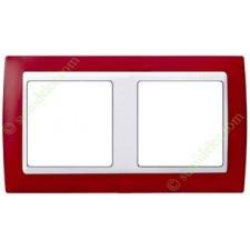 Marco Rojo translúcido 82623-37 2 elementos Simon