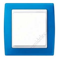 Marco azul translúcido 1 elemento 82613-64 Simon