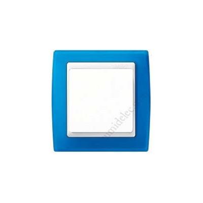 Marco azul translúcido 1 elemento...