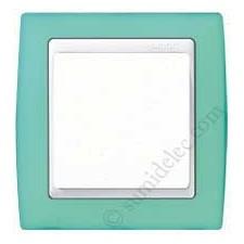 Marco verde translúcido 1 ventana Simon 82613-65
