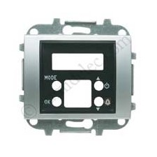 Tapa Reloj despertador termometro 8449.5 tt titanio Niessen