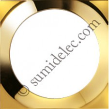 Marco oro 1 elemento Simon 88 cuadrada 88612-36