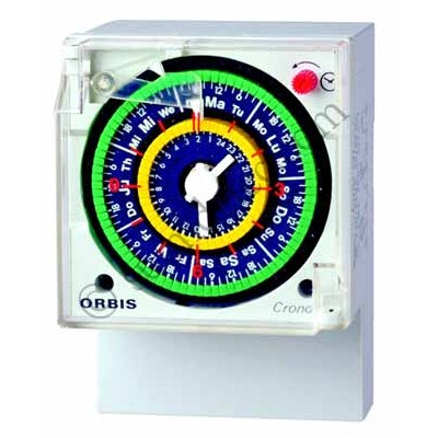Interruptor horario analógico Orbis...
