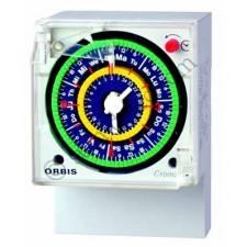 Interruptor horario Orbis CRONO QRD 2x10 CON reserva 100 h