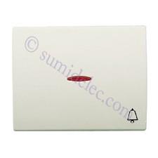Tecla pulsador visor simbolo timbre blanco jazmin olas niessen