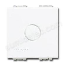 Tapa ciega BTicino color blanco serie Livinglight N4951