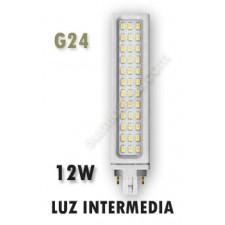 Lámpara PL LED 12W G24 luz intermedia Samsung