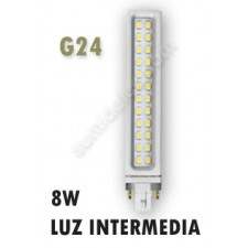 Lámpara G24D PL de LED 8W luz natural Samsung