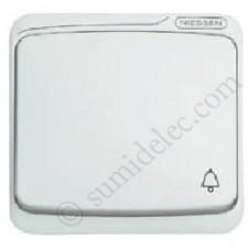 Tecla simbolo timbre pulsador 8704ba niessen serie Arco Estanco