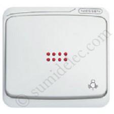 Tecla pulsador visor simbolo luz 8704.4 niessen serie Arco Estan