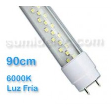 Tubo led 90cm T8 color de luz fría