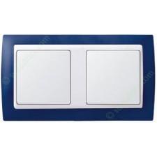 Marco azul marino 2 elementos simon 82622-64