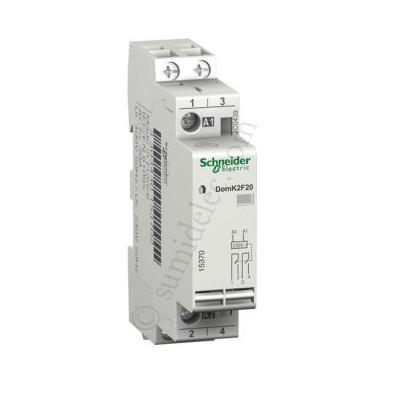 Contactor schneider A9C22722 20A 2P 230v
