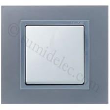 Marco aluminio 1 elemento Simon 82 acabado metal 82917-33