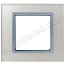 Marco cristal plata 1 elemento Nature 82917-62 Simon