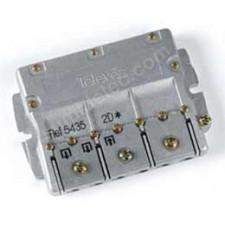 Repartidor distribuidor 2 salidas 4/5db EasyF 543502 televes