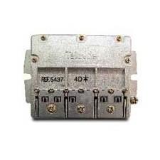 Repartidor/distribuidor 4 salidas 7.5/9.5db 5437 televes