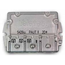 Repartidor 2D EMC 4,5/4,3dB PAU 542902 televes