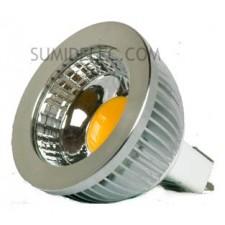 Bombilla led dicroica mr16 Epistar COB 5w 12v 450 lumen luz fria