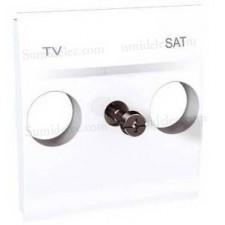Tapa toma tv sat u9.441.18 blanco estandar unica