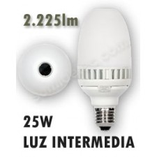 Bombilla LED de 25w MNG-25 E27 360º luz intermedia