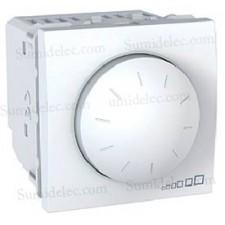 Interruptor conmutador regulador giratorio U3.511.18 blanco eune