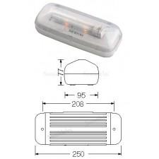 Luz de emergencia normalux 220 lumenes s-200 serie stylo