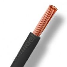 Cable de 25 mm eléctrico negro por metros cero halógenos