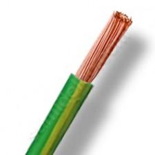 Cable de 25 mm eléctrico por metros cero halógenos tierra verde amarillo