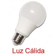 Bombilla LED standard 10W E27 Epistar 2800K-3200K luz cálida