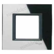 Marco 1 elemento espejo negro mgu68.002.7c1 unica class eunea