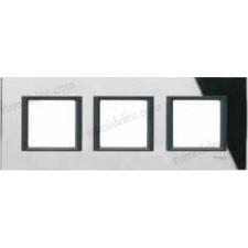 Marco 3 elementos espejo negro mgu68.006.7c1 unica class eunea
