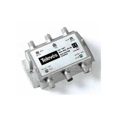 Mezclador repartidor ict 2 3e 2s televes 740710 precio - Antenas televes precios ...