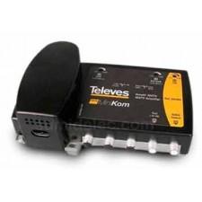 Central amplificadora 3e/1s matv 531201 MiniKom televes