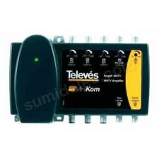 Central amplificadora terrestre 5e/1s 539105 MiniKom Televes