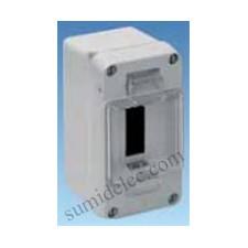 Caja estanca distribucion Solera 898 IP54 libre halógenos