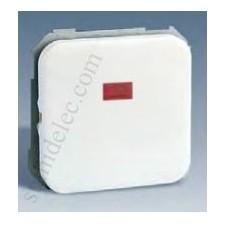 Interruptor unipolar piloto serie 31 blanco simon 31102-30