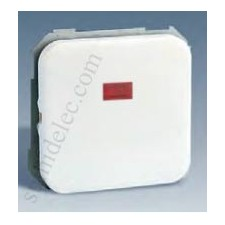 Interruptor bipolar piloto simon31 blanco 31134-30
