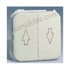 Grupo 2 interruptores persiana serie 31 marfil simon 31332-31