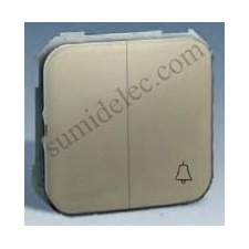 Grupo 1 conmutador 1 pulsador campana serie 31 simon 31301-34