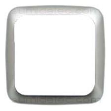 Marco 1 elemento aluminio serie 31 simon 31611-33